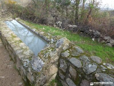Ruta de los Castaños, Rozas de Puerto Real;senderismo selva de irati rutas por riaza viajes marzo e